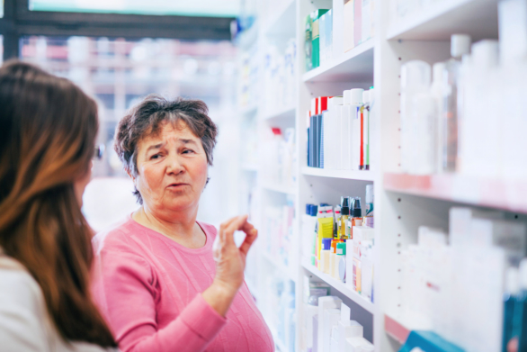 Let Your Pharmacist Know the Medicines You're Taking